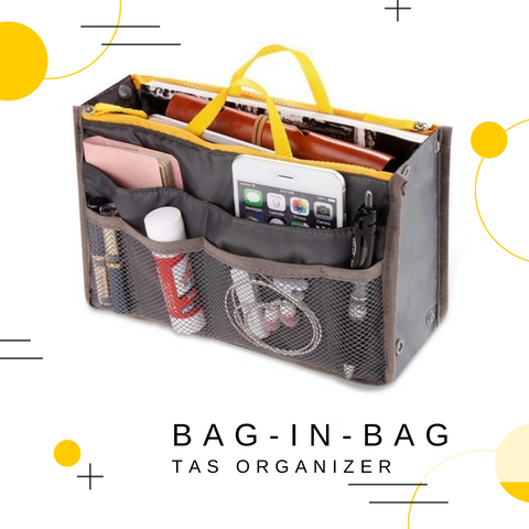Image of Bag in Bag - Tasorganizer | Grijs