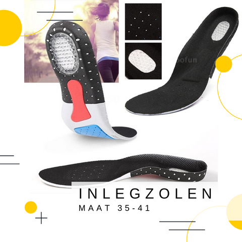 Image of Gel Inlegzolen | Zwart