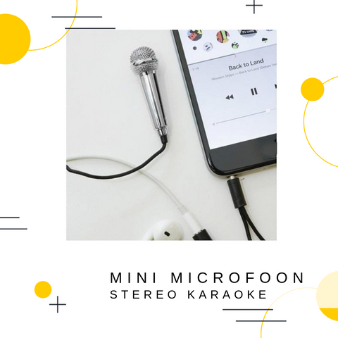 Mini Microfoon 3.5mm jack