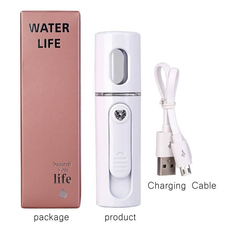 Portable Face Spray Bottle Nano Mister for $24.95