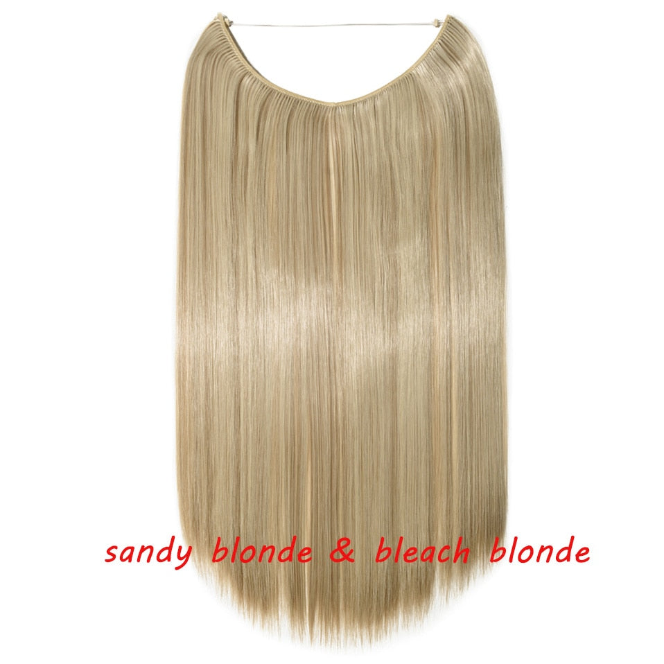 Invisible Halo Hair Extensions - glamorya