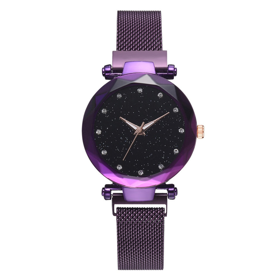 Luxury Magnetic Starry Sky Watch for $29.95