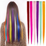 Colorful pieces of wigs - glamorya