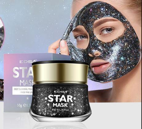 Glitter Star Peel off Mask - glamorya