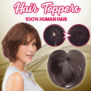 Silky Clip-On Hair Topper - glamorya