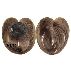 Silky Clip-On Hair Topper for $16.95