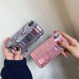 Makeup Eyeshadow Palette iPhone Case - glamorya