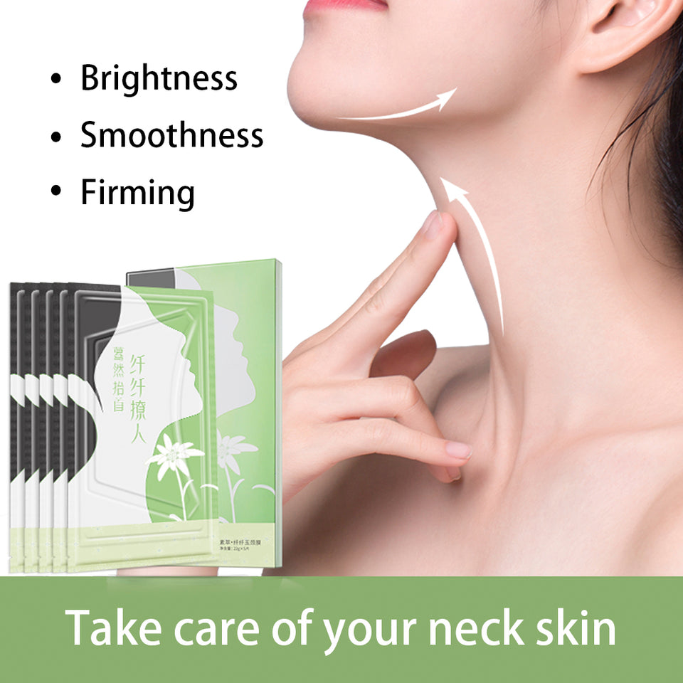 Miracle Anti Aging Neck Mask (5 Pcs/Set) for $29.95