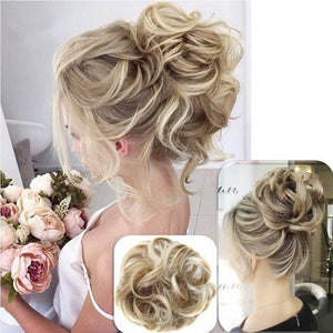 Messy Rose Bun - glamorya