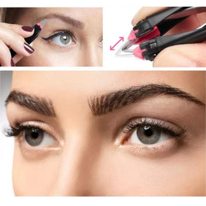 new Automatic Retractable Eyebrow Clip