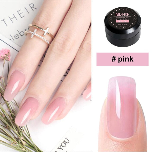 Gel Poly Nails Kit for $14.95