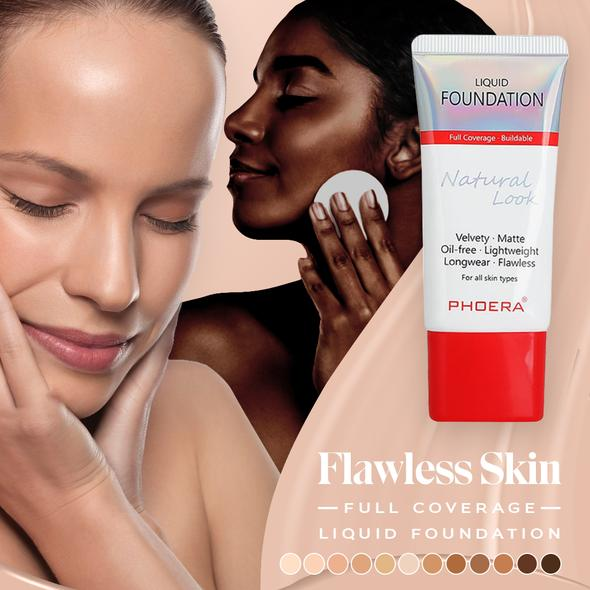 Flawless Skin Full Coverage Liquid Foundation