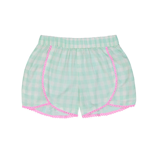 Frankie Gingham Short