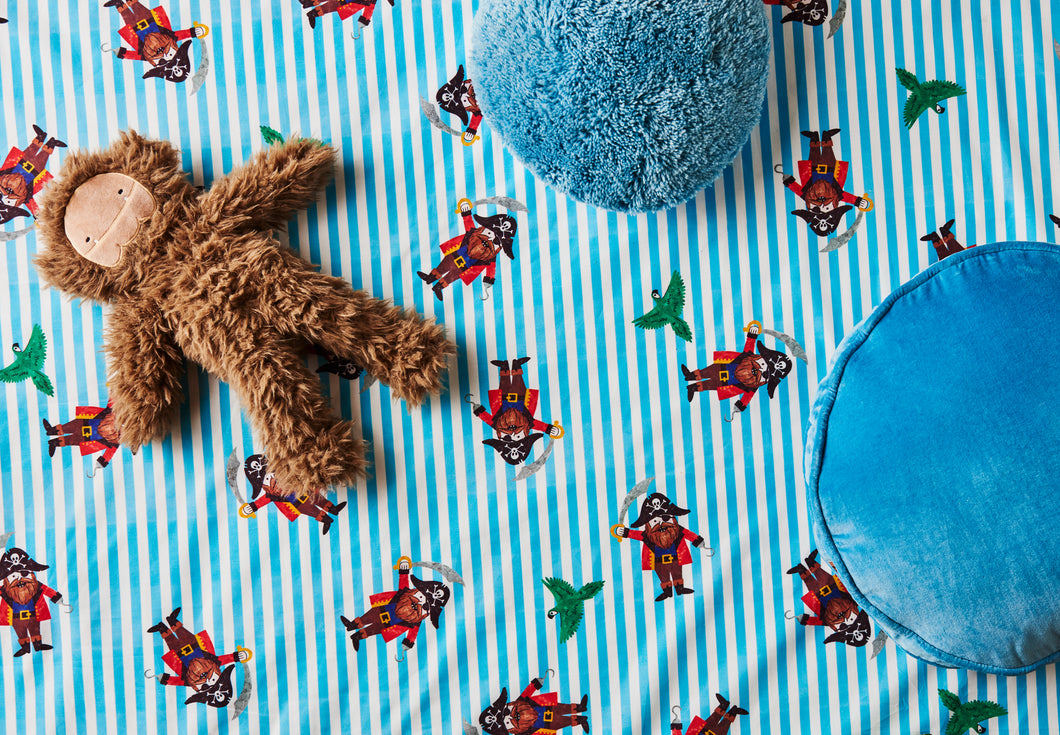 Ahoy Fitted Crib Sheet