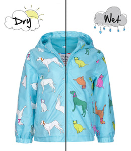 Color Changing Rain Coat