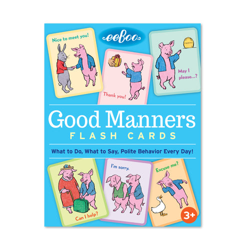 Good Manners Flashcards
