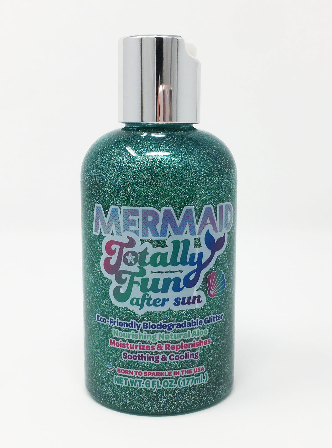 Mermaid Totally Fun Biodegradable Glitter After Sun