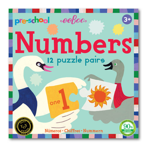 Pre-School Numbers Puzzle