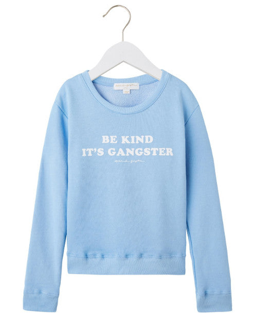 Girls Be Kind Gangster Pullover