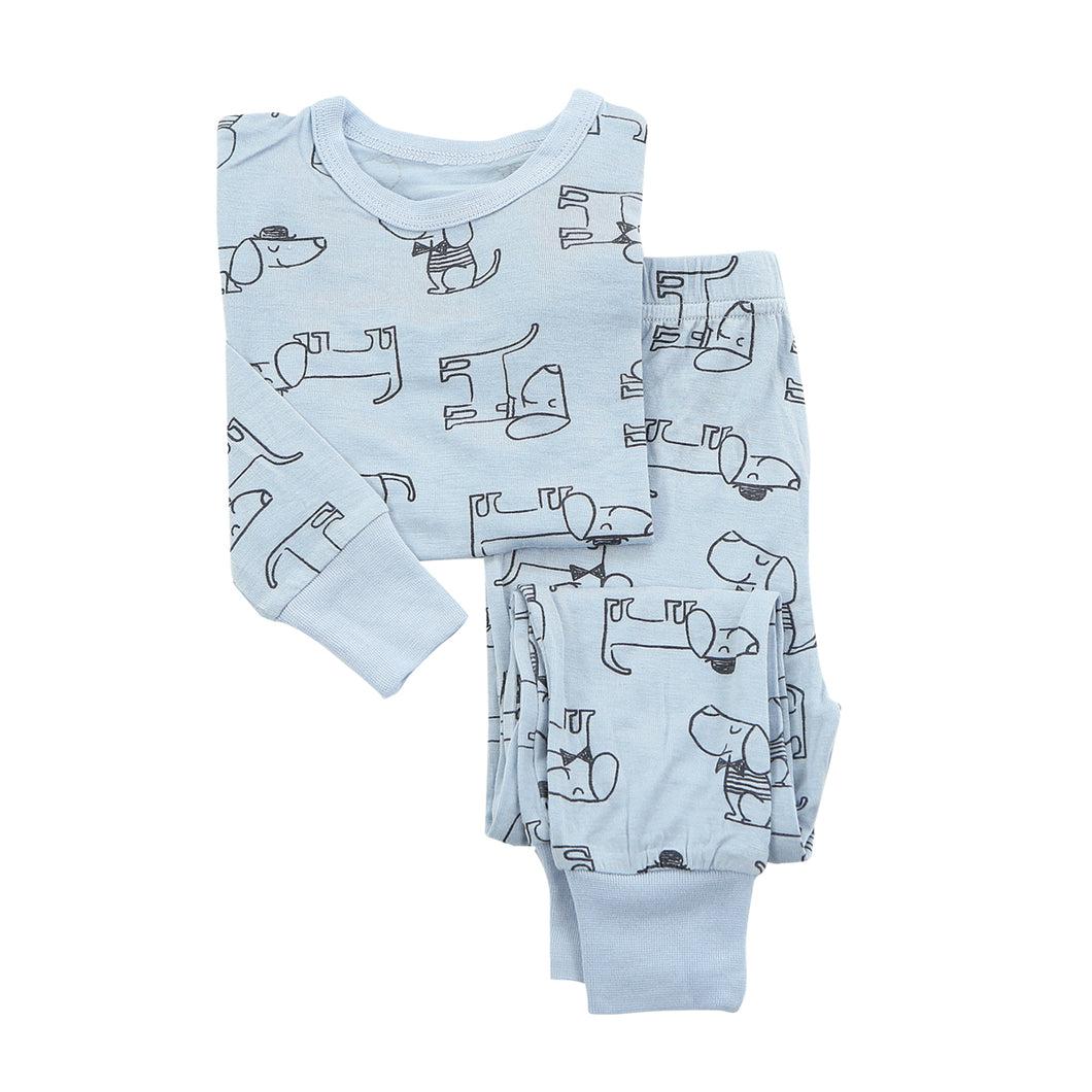 Bamboo Pajama Dog Set