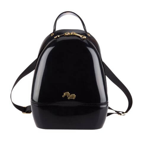 Black Annabelle Jelly Backpack