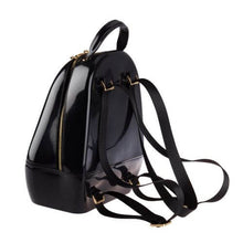 Load image into Gallery viewer, Black Annabelle Jelly Backpack