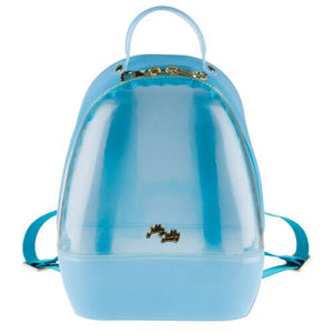 Clear Blue Annabelle Jelly Backpack