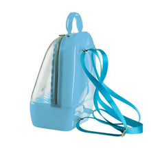Load image into Gallery viewer, Clear Blue Annabelle Jelly Backpack