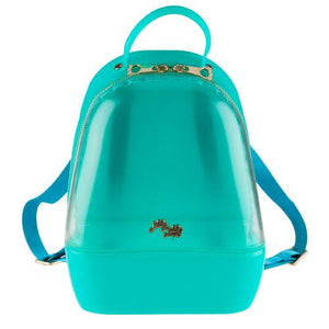 Clear Mint Annabelle Jelly Backpack