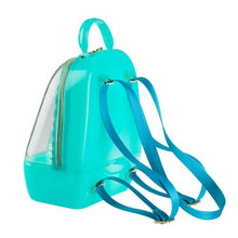 Load image into Gallery viewer, Clear Mint Annabelle Jelly Backpack