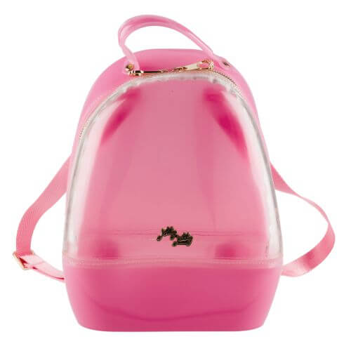 Clear Pink Annabelle Jelly Backpack