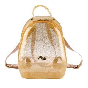 Gold Annabelle Jelly Backpack