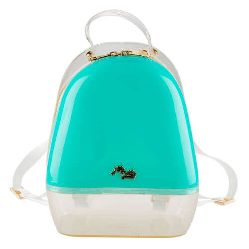 Mint Clear Annabelle Jelly Backpack