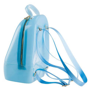 Pale Blue Annabelle Jelly Backpack