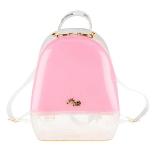 Pink Clear Annabelle Jelly Backpack