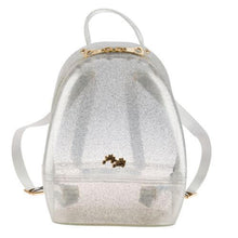 Load image into Gallery viewer, Silver Annabelle Jelly Backpack