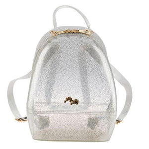Silver Annabelle Jelly Backpack