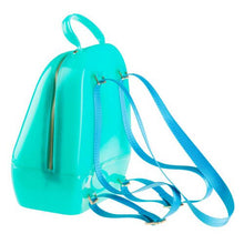 Load image into Gallery viewer, Solid Mint Annabelle Jelly Backpack