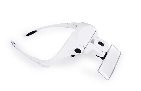 Headband Magnifying Glasses With Lamp