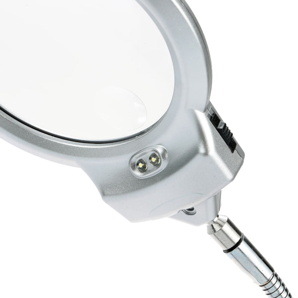 Magnifying Glass with Table Clamp