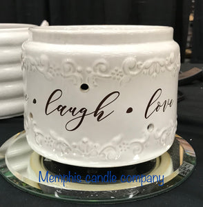 Fan Fragrance Warmer-Live Love Laugh