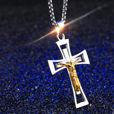 Car Pendant Metal Jesus Cross
