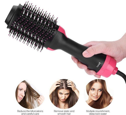 Multifunctional Hair Dryer - Hair Brush Curler Roller - 2 in 1