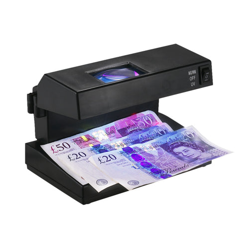 Currency Checker (UV + Magnifier EU Plug)