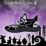 NIGHTMARE BEFORE CHRISTMAS JACK CUSTOM YEEZY SNEAKERS