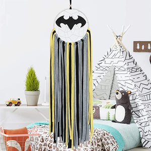Dreamcatchers Batman Kids Wall Decor Baby Nursery Decoration Handmade Traditional Home Decor Room Ornament Crafts Gift