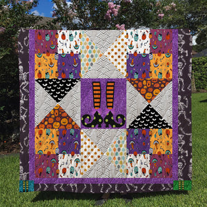 Halloween Quilt-Halloween Decor