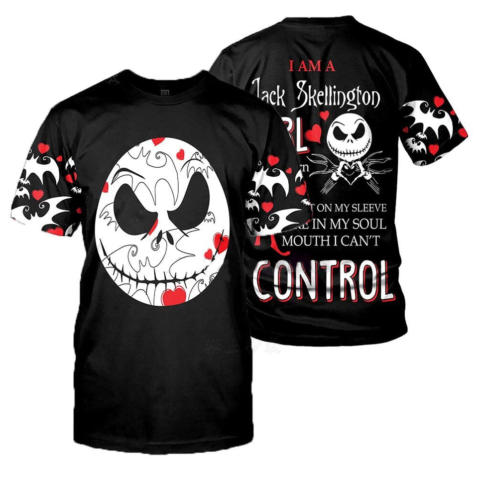 jack skellington hoodies/shirt/Sweatshirt Winter Nightmare Before Christmas Halloween streetwear-1