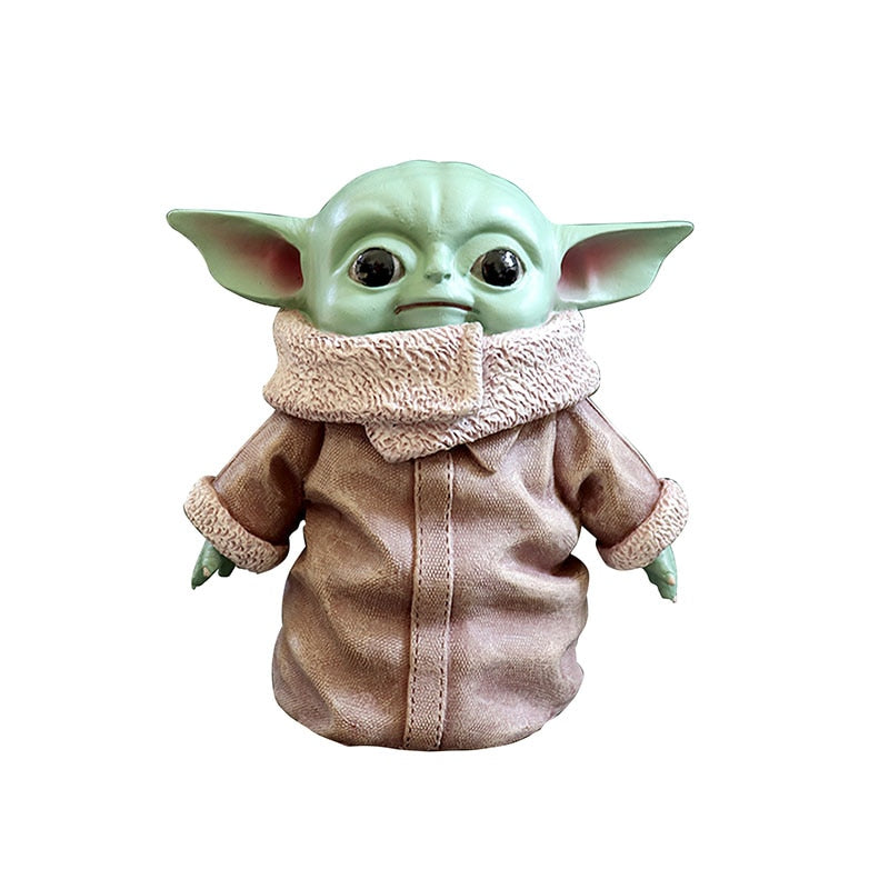Star Wars Yoda Baby Action Figure Toys Hot Anime Baby Yoda Figure Action Toys Yoda Master Figuras Dolls Toy Gifts for Children