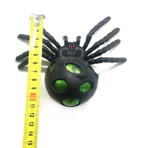 Soft Rubber Simulation Spider Ball Toy Game Crazy Party Prop Children family themed Halloween party Lifelike Spider Decor